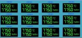 新版GSP药品仓库无线库房温湿度监测系统